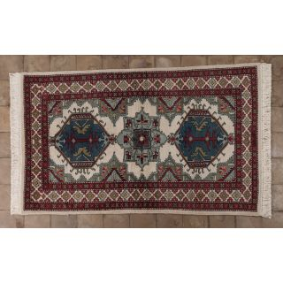 Handmade carpet type Kazak -315