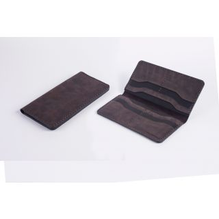Handmade natural leather full option wallet - 519
