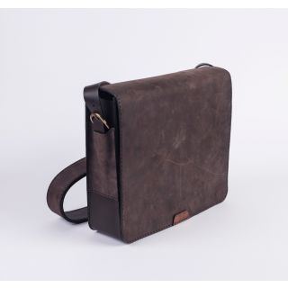 Handmade natural leather cross bag- 505