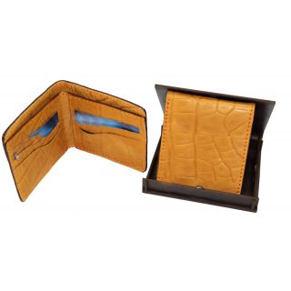 Natural leather wallet-911
