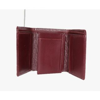 Natural leather wallet-908