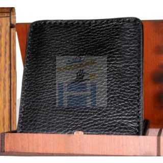 Natural leather wallet-912